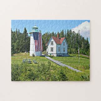 Little River Lighthouse, Maine Puzzle