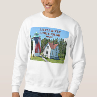 Little River Lighthouse, Maine Sweatshirt