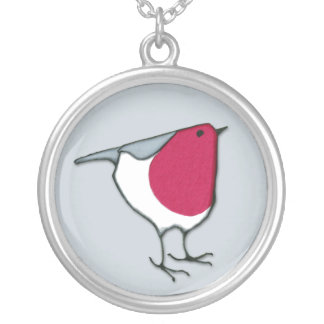 Little Robin grey Necklace