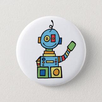 Little Robot 2 Inch Round Button