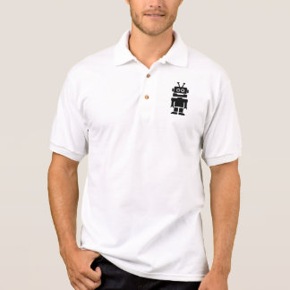 Little robot polo shirt