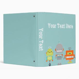 Little Robots Binders