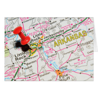 Little Rock, Arkansas Card