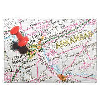 Little Rock, Arkansas Placemat