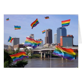 Little Rock Flying Pride Card