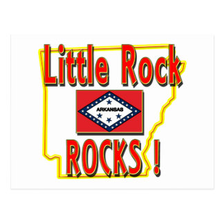 Little Rock Rocks ! (red) Post Cards