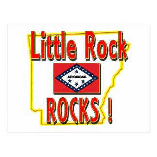 Little Rock Rocks red Post Cards