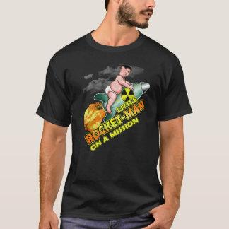 Little Rocket Man Funny Kim Jong Un Trump T-shirt