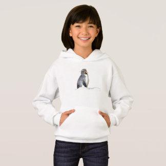 Little Rockhopper Penguin hoodie for girls, w