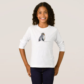 Little Rockhopper Penguin shirt, girls T-Shirt