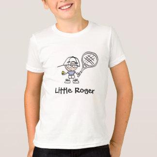 Little Roger Tennis Cartoon T shirt For Boys