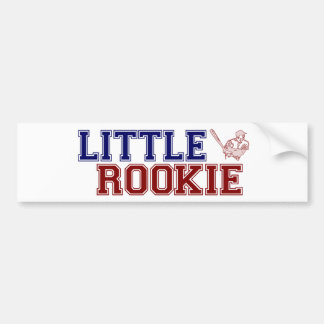 Little Rookie Bumper Sticker