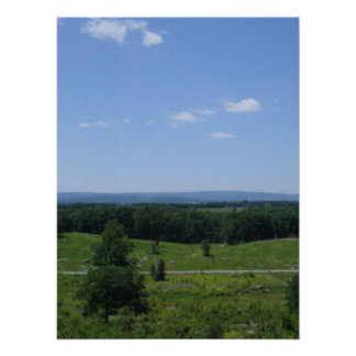 Little Round Top Panorama 3 Poster
