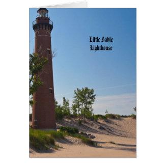 Little Sable Lighthouse Card