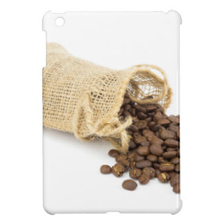 Little sackcloth with coffee beans iPad mini covers