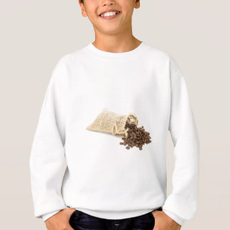 Little sackcloth with coffee beans sweatshirt