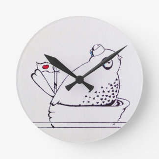 little sailor bird wallclock