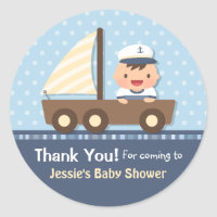 Little Sailor Nautical Baby Shower Party