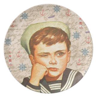 Little sailor plate