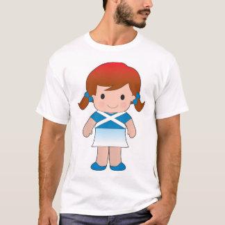 Little Scottish Girl T-Shirt