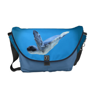 Little Sea Turtle Messenger Bag