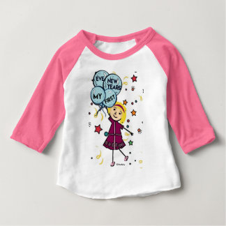 Little Seraphina- My First New Years Eve Baby T-Shirt