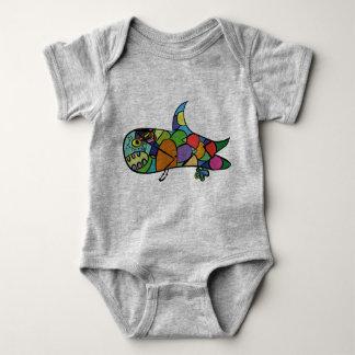 Little Shark - Follow your dream Baby Bodysuit