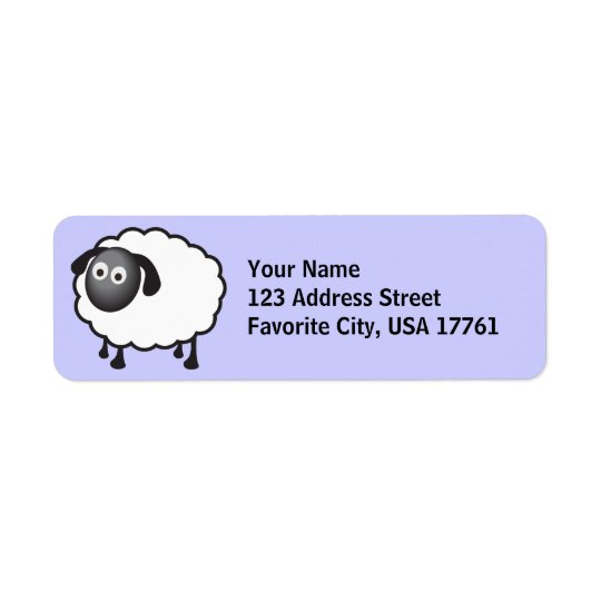 Little Sheep Address Labels