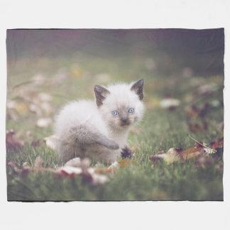 Little Siamese Kitten Blanket