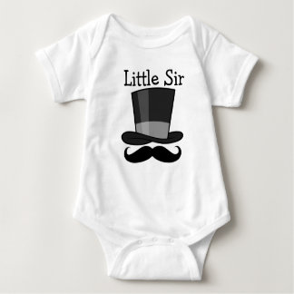 Little Sir Baby Bodysuit
