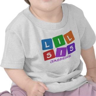 Little Sis CUSTOM NAME clothing Shirt