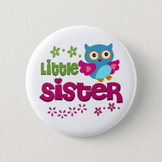Little Sister 2 Inch Round Button