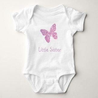 Little Sister Butterfly Baby Bodysuit