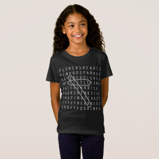 Little Sister Crossword Puzzle Family Shirt