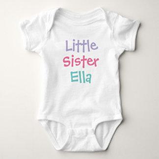 Little Sister Custom Name | Tee Shirt Design