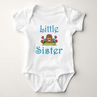 Little Sister Fluffy Pup 5 Baby Bodysuit