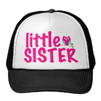 Little Sister Owl Mesh Hats