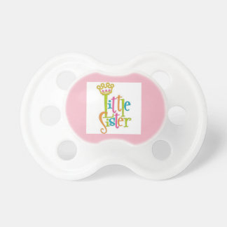 little sister pacifier