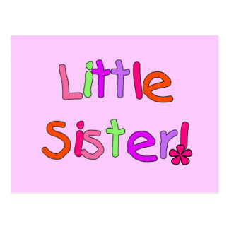 Little Sister T-shirts and Gifts Postcard