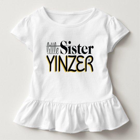 Little Sister Yinzer Toddler T-shirt