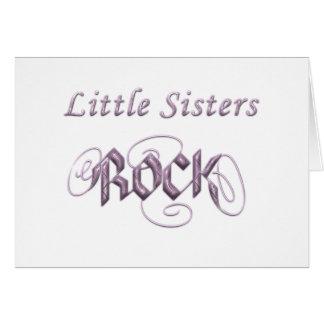 Little Sisters Rock Card