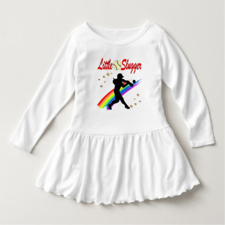LITTLE SLUGGER GIRLS SOFTBALL DESIGN T SHIRTS