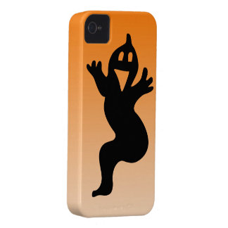 Little smiling ghost iPhone 4 cover