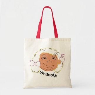 Little Snacker Granola Budget Tote Bag