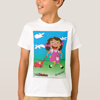 Little Snacker Granola girl tshirt