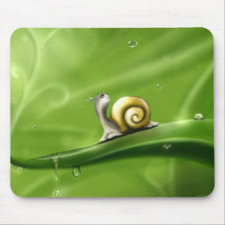 little snail mouse pad