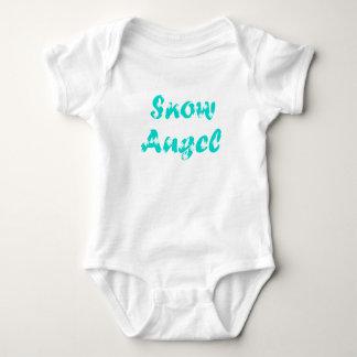 Little Snow Angel Baby Bodysuit