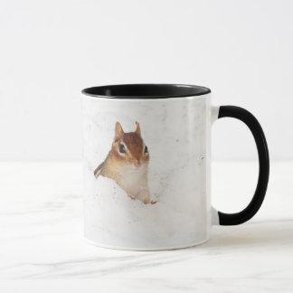 Little Snowbound Chipmunk Mug