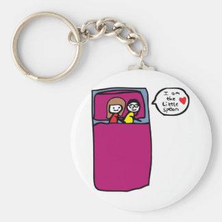 Little Spoon Basic Round Button Keychain