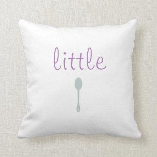 Little Spoon/Big Spoon pillow
